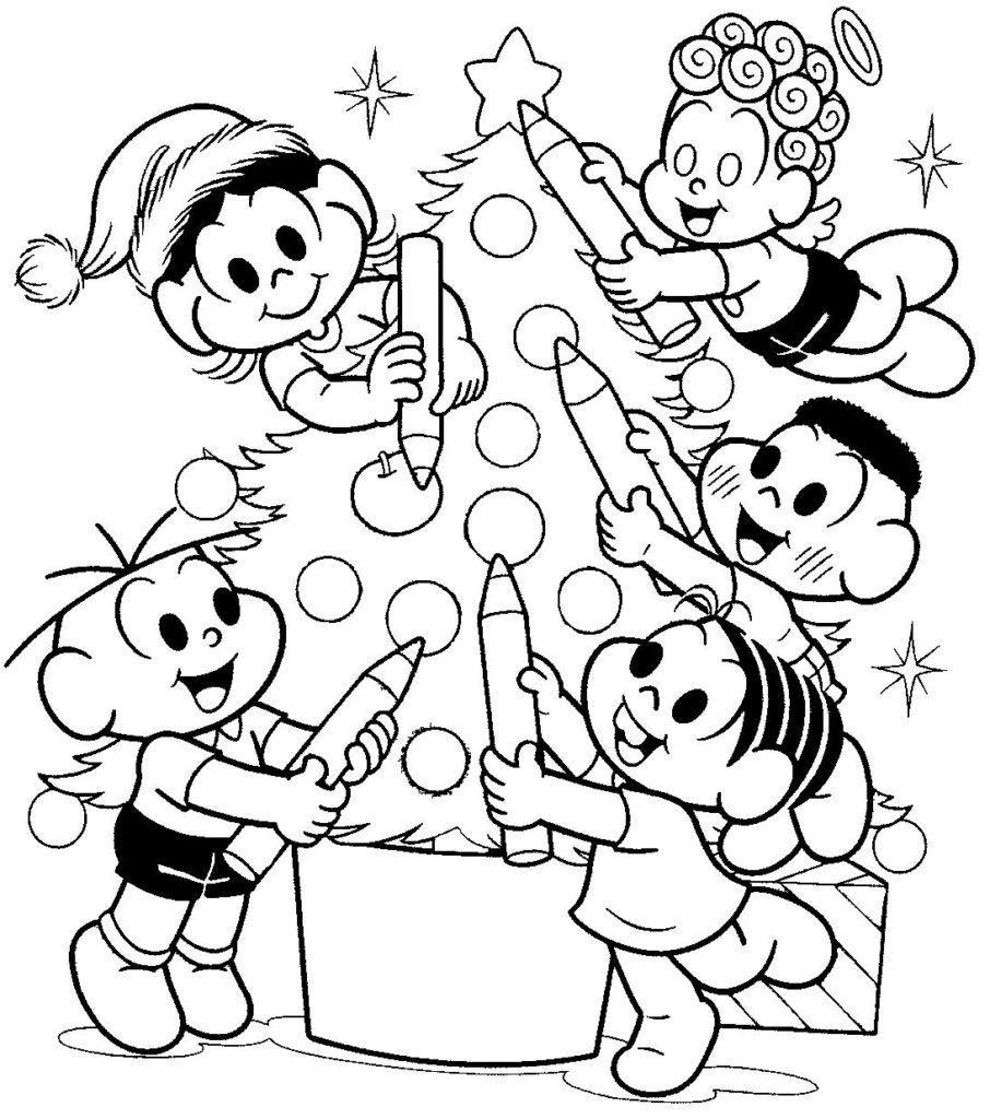 Desenhos De Natal Para Colorir E Pintar Atividades Educacao Infantil